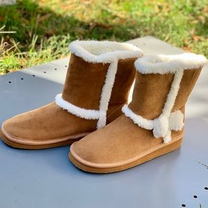 Wonder Nation Girls' Shearling Boot Children Shoes